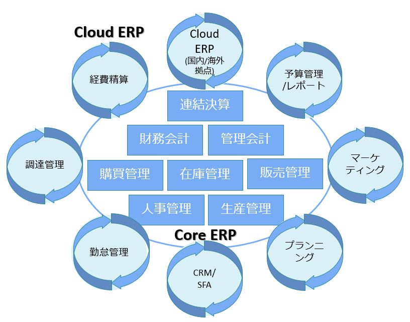 Global Strategy of Postmodern ERP