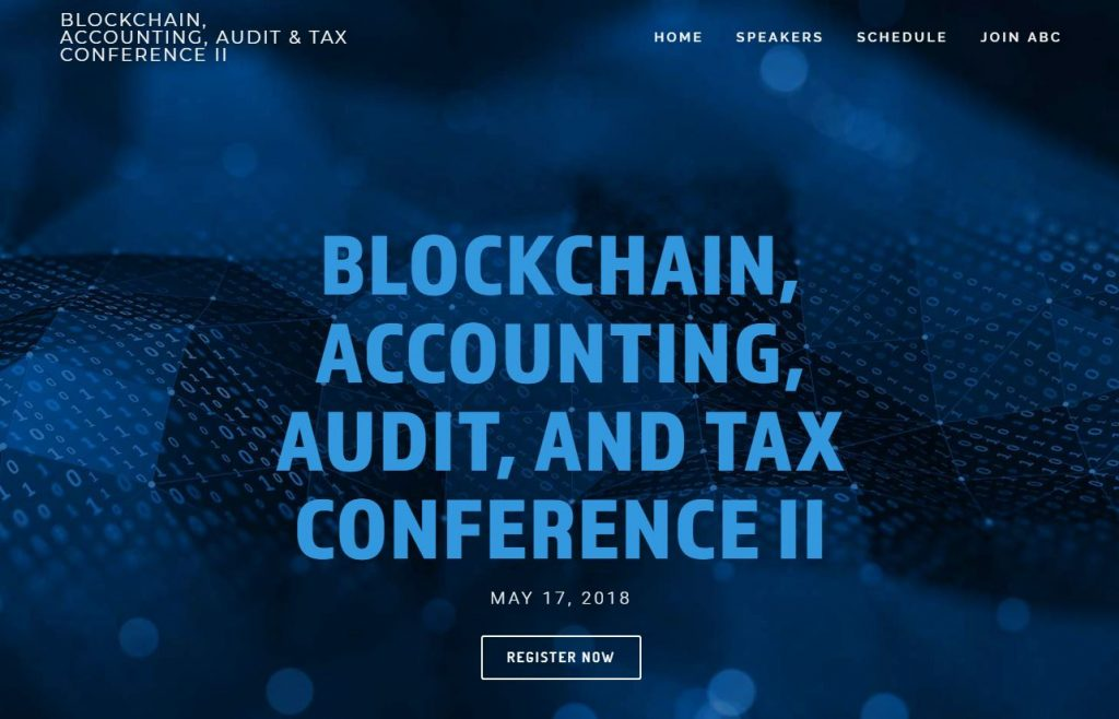 Blockchain, Accounting, Audit, and Tax Conference II レポート